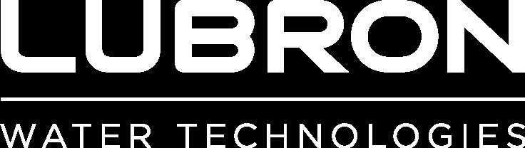 Lubron logo white