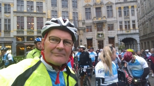 Lubron UK's MD takes to the saddle to raise money for local hospice