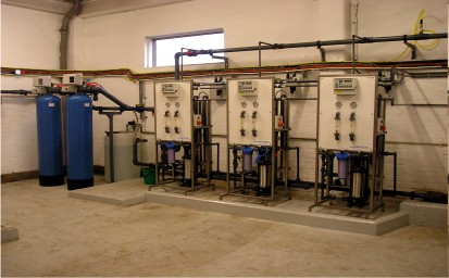 water pre-treatment system